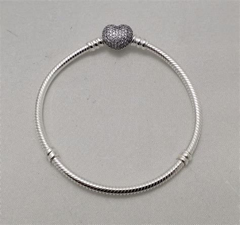 new authentic pandora 925 sterling silver cz tennis