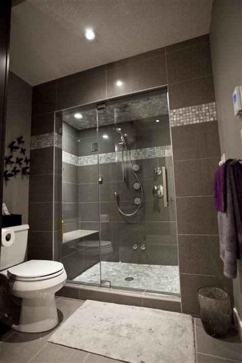 may basement renovation transitional bathroom