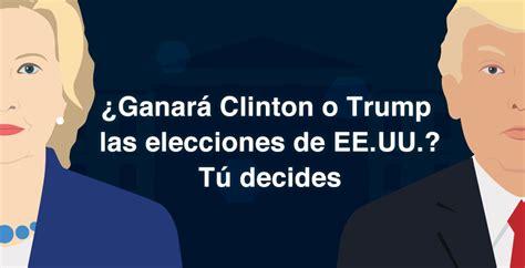 quien ganara las elecciones en usa 2016 quien ganara elecciones en usa 2016