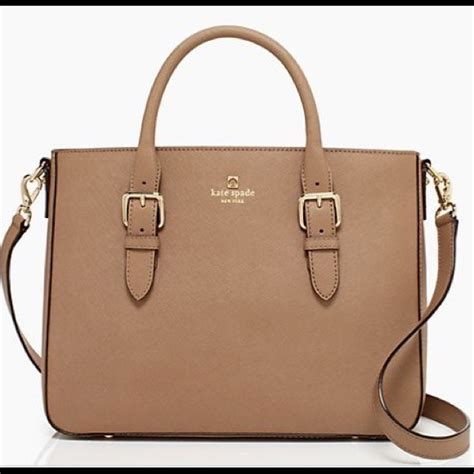 Kate Spade Lydia Leather Brown kate spade brown leather bag