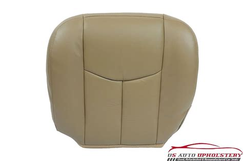 driver seat cushion replacement 03 07 chevy silverado driver bottom replacement leather