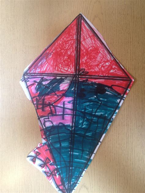 Kites Out Of Paper - evergreen montessori house simple paper kite