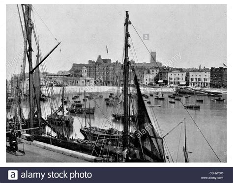 old boat cafe maidstone margate kent old town stock photos margate kent old town