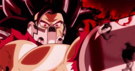 anime dragon ball heroes trailer dragon ball heroes anime trailer teases evil saiyan action