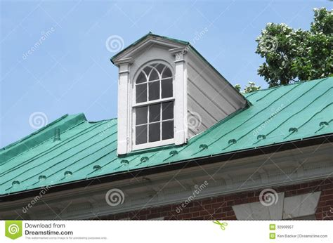 Windows On Roof Of House Dormer Window On Roof Royalty Free Stock Photography