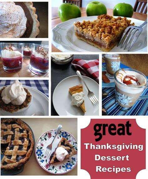 great thanksgiving dessert recipes good cheap eats
