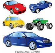 EPS Vector Of Car Icons Set 2  Illustration 5 Different