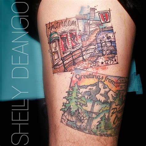 watercolor tattoo eugene oregon 1000 images about tattoos on threads