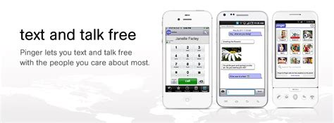 Pinger Number Lookup Pinger Unlimited Free Texting And Calls For Ios And Android