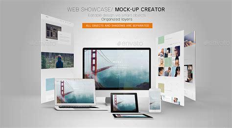 web design showcase mockup web showcase mock up creator by wutip graphicriver