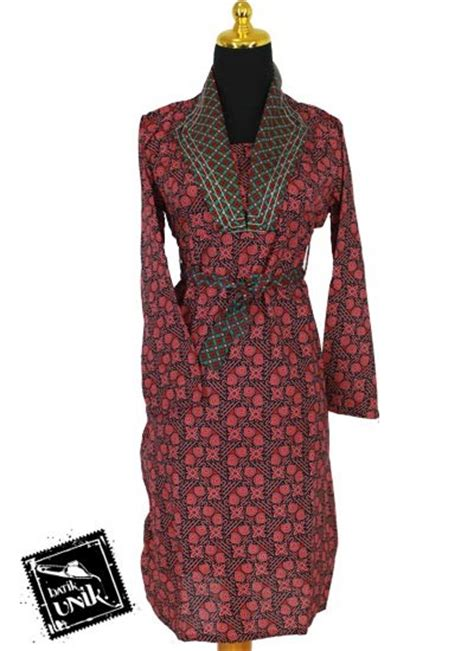 Dress Batik Coklat Motif baju batik sarimbit dress motif capocinno warna obral