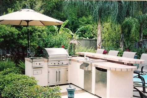 the backyard kitchen big green egg outdoor kitchen