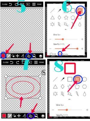 tutorial buat logo tutorial cara buat logo stempel di pics art ledy