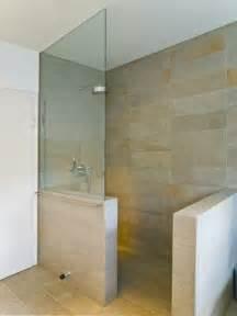 dusche glaswand ebenerdige dusche 23 aktuelle bilder archzine net