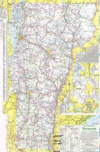 Vermont State Map by Vermont