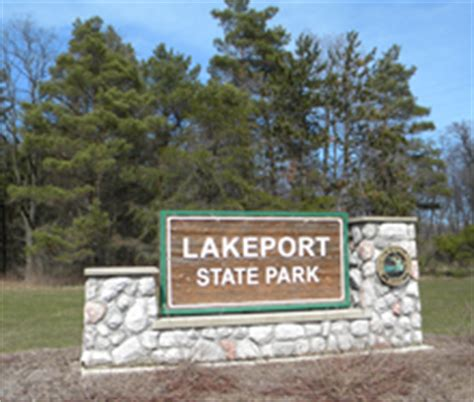 Lakeport State Park Cabins by Port Huron Accommodations Cgrounds