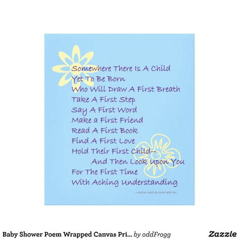 A Baby Shower Poem by Baby Shower Poems