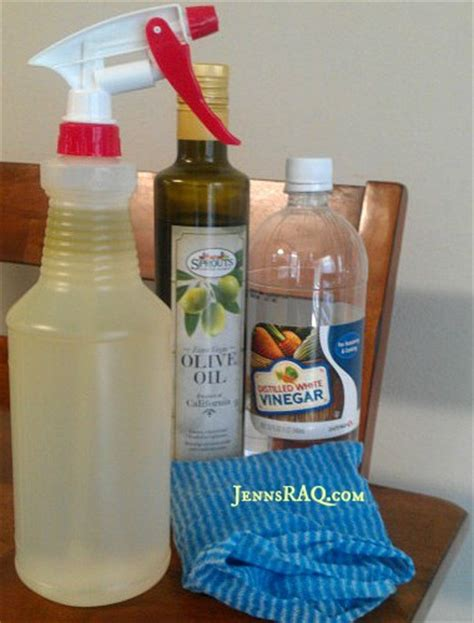 diy couch cleaner homemade furniture polish easy diy jenn s raq