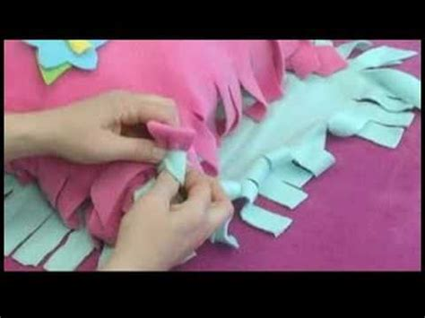 no sew fleece hat scarf pillow knotting a no sew