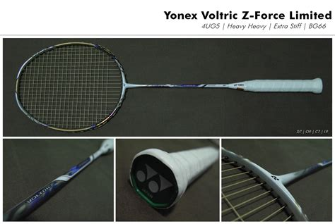 Raket Voltric Z Ltd Of Badminton Things End Of Production Yonex Voltric Z Limited
