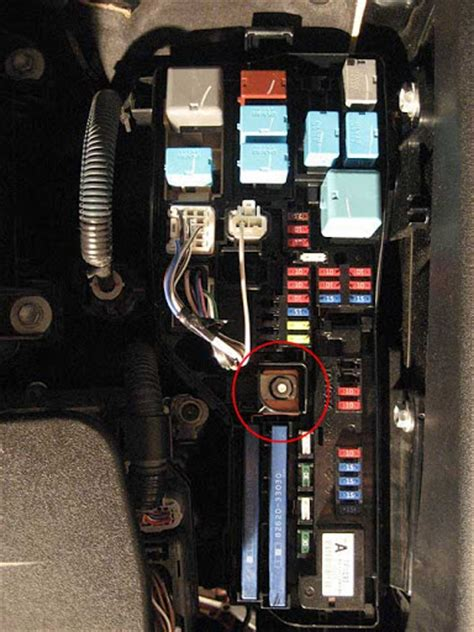 replace under hood fuse box 2007 toyota camry hids and the tch toyota nation forum toyota car and truck forums