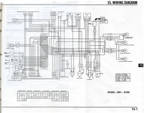 1985 honda spree wiring diagram wiring diagram for honda