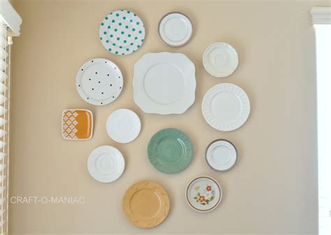 how to hang plates on the wall how to hang plates plate wall