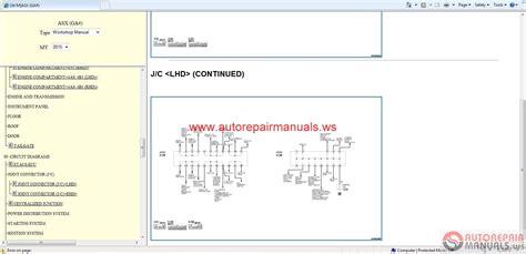 mitsubishi lancer evolution x 2008 wiring diagrams