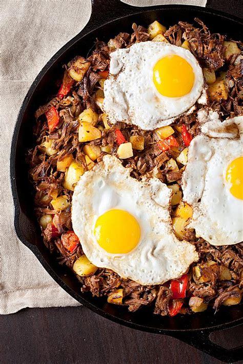 brisket hash  eggs recipe