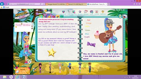 how to become a celeb on msp rachie7113 s msp blog d
