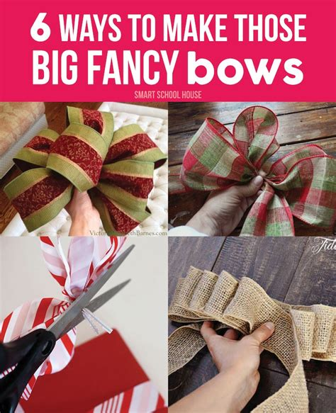 how to make large bows for christmas trees how to make bows