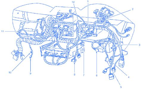 ford mustang gt    dash electrical circuit wiring diagram carfusebox