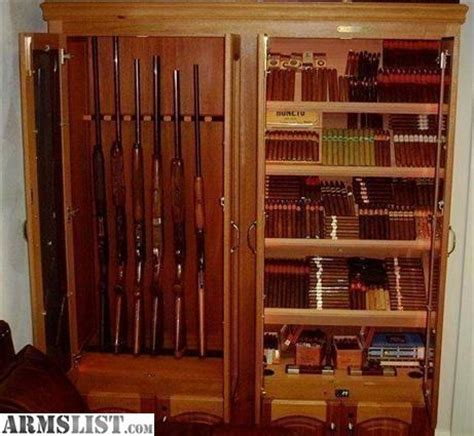 used cigar humidor cabinet for sale armslist for sale gun cabinet cigar humidor in solid