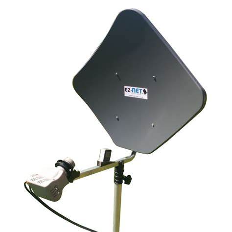 ez net portable satellite kit for motorhomes