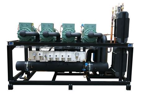 Compressor Rack by Multicompressor Rack With 4 Semi Hermetic Reciprocating