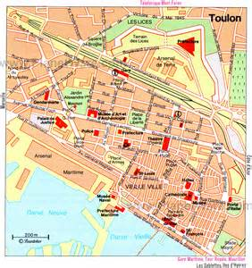 Toulon France Map by Toulon France Cruise Port Of Call