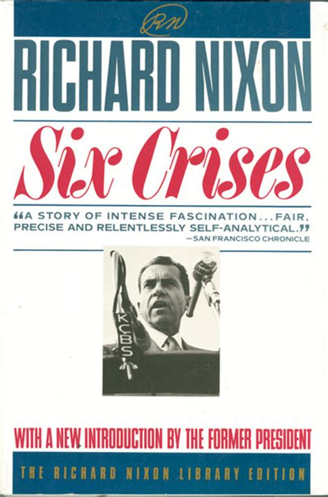 richard nixon the books richard m nixon autographed and dated six crises book