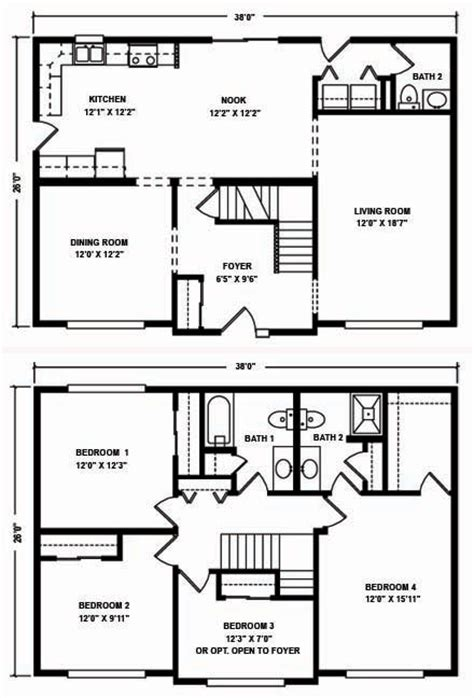 mountain modular two story floor plans