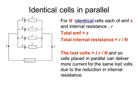 3 identical resistors in parallel 5 1 electric potential difference current and resistance ppt