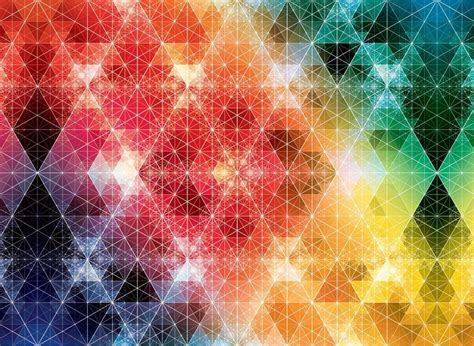 colorful textured wallpaper geometric geometry andy gilmore colorful triangles te