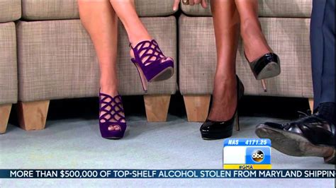 amy robach lara spencer ginger zee y legs amy robach lara spencer ginger zee close up high