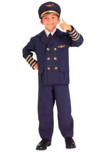 Toddler Bad Boy Costume Child Airline Pilot Costume