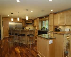 Best maple cabinet dark floor design ideas amp remodel pictures houzz