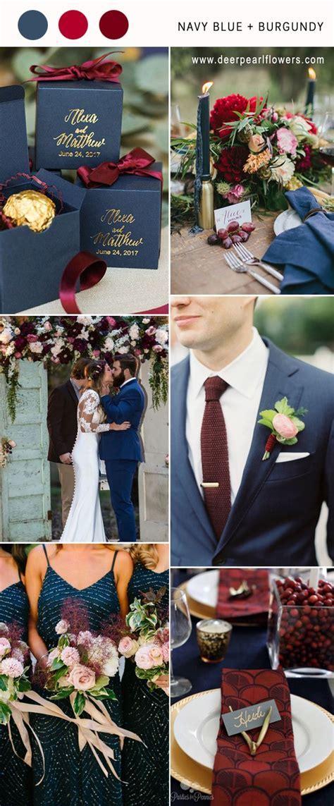 Top 10 Navy Blue Wedding Color Combo Ideas for 2018   Deer
