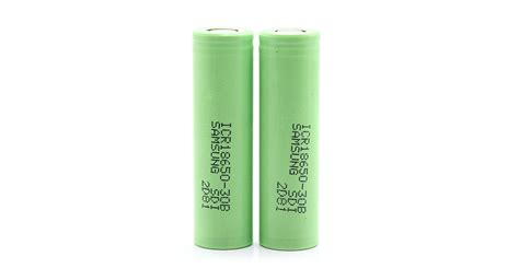Samsung Icr 18650 30b Li Ion Battery 3000mah 3 7v With Flat Top 7 67 authentic samsung icr18650 30b 18650 3 7v 3000mah li ion batteries 2 pack 2 pack with