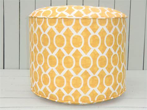 Pouf Chair by Yellow Pouf Ottoman Ottoman 18 Quot Bean Bag Chair