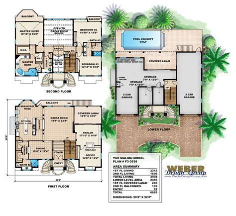 stock floor plans california house plans stock floor plans with lanai