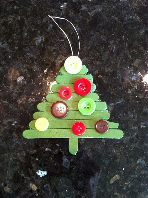 easy christmas tree ornament craft holiday decor and