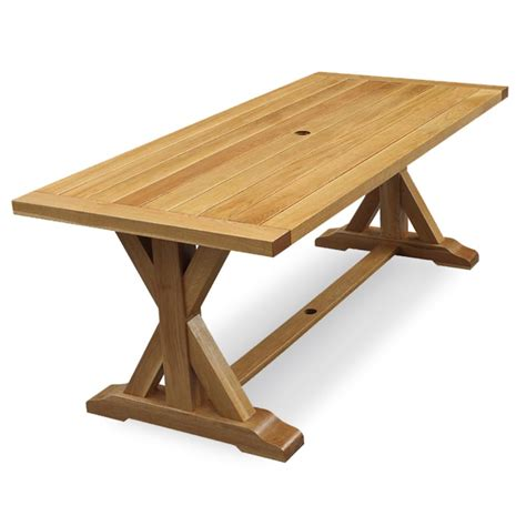 cambridge casual baytown rectangular wood outdoor dining