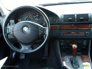 2001 bmw 5 series 530i sedan black dashboard photo